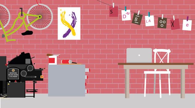 Ambientazione tipografica per il video Benfatto