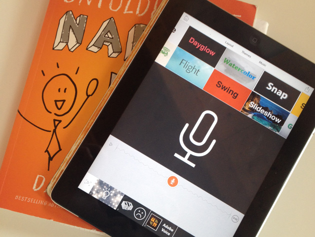 Libro, iPad e Adobe Voice