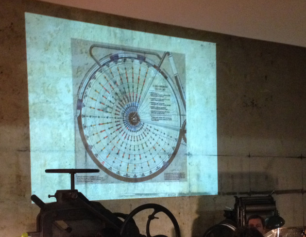 Foto dell'intervento di un relatore